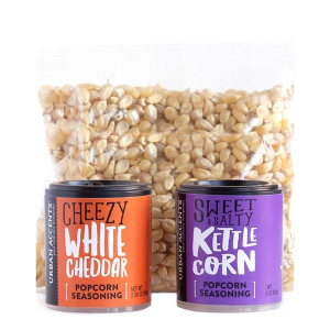 What's Pop'N Gourmet Popcorn Gift Set
